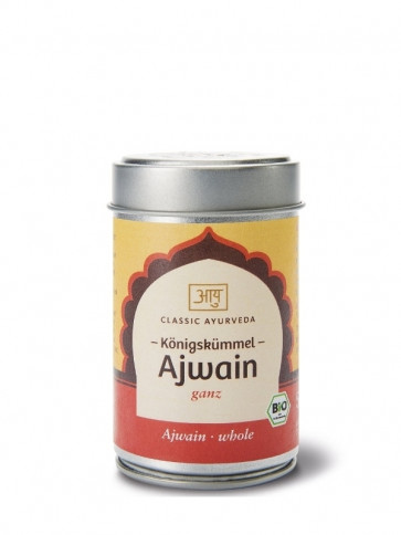 Ajowan (whole) organic 50 g by Classic Ayurveda