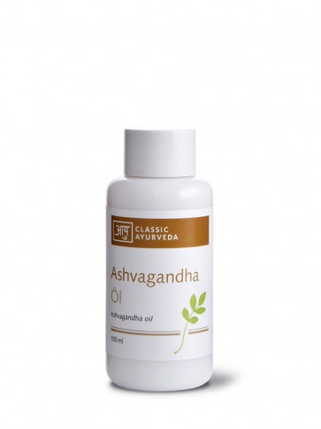 Ashwagandha Massage Oil 100 ml by Classic Ayurveda