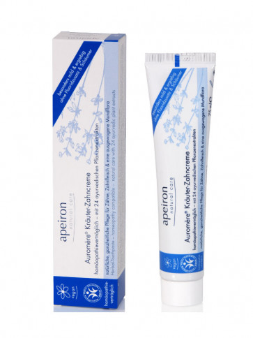Auromère® Herbal Toothpaste (homeopathy compatible) mint-free, BDIH