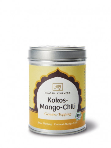 Cocos-Mango-Chili Spice-Topping organic 60 g by Classic Ayurveda