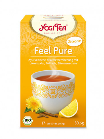 Detox Tea with Lemon organic 17 tea bags à 1,8 g (30,6 g) by YOGI TEA
