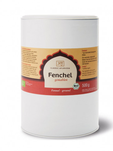 Fennel (ground) organic 500 g by Classic Ayurveda