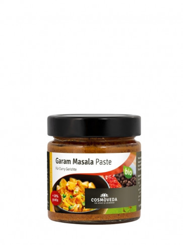 Garam Masala Curry Paste bio 175 g von Cosmoveda