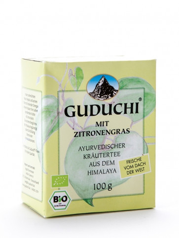 Guduchi Tea with Lemon Grass (loose) organic 100 g