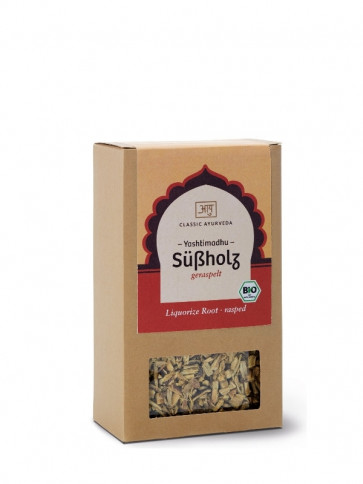 Liquorice root (grated) organic 100 g by Classic Ayurveda