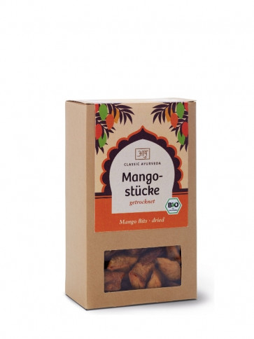 Mango Pieces organic 100 g by Classic Ayurveda
