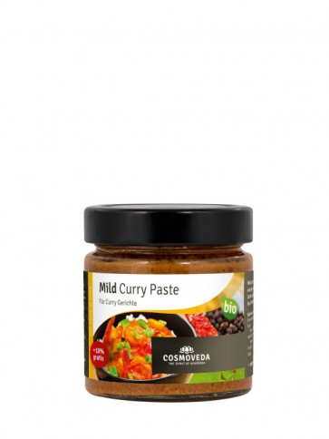 Mild Curry Paste bio 175 g von Comoveda