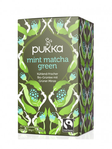 Cool Mint Green organic 20 teabags à 1,5 g (30 g) by Pukka Herbs