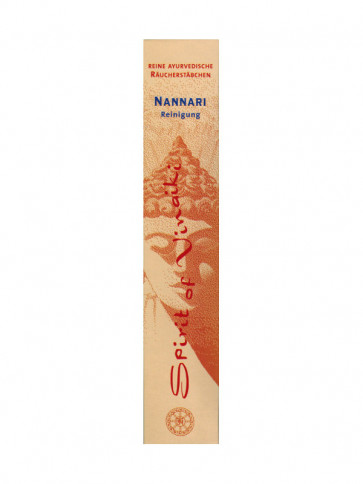 Nannari Incense Sticks 10 Pieces by Spirit of Vinaki