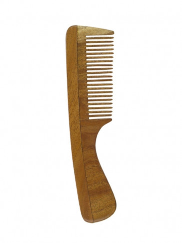 Neem Comb Nature (fine with handle) by Holisan