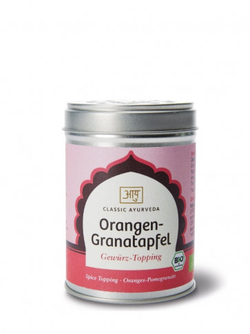 Orange-Pomegranate Spice-Topping organic 60 g by Classic Ayurveda