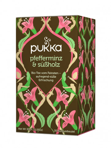 Peppermint & Licorice Tea organic 30 g by Pukka Herbs