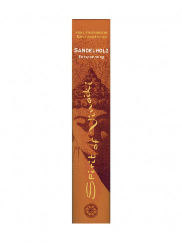 Sandalwood Incense Sticks 10 Pieces by Spirit of Vinaiki
