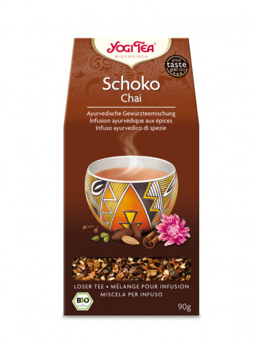 Chocolate Chai Tea (loose) organic 90 g by Yogi Tea