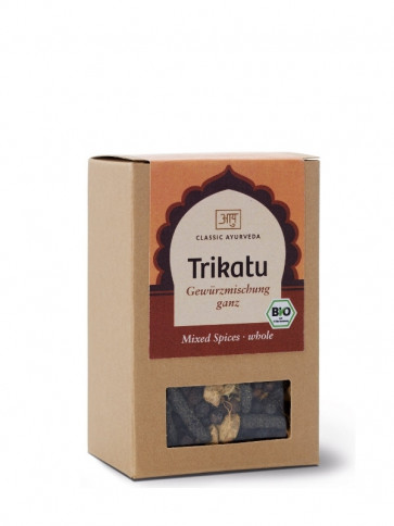 Trikatu Spice Blend (whole) organic 50 g by Classic Ayurveda