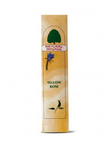 Yellow Rose Incense Sticks 12 x 10 g by Maharishi Ayurveda
