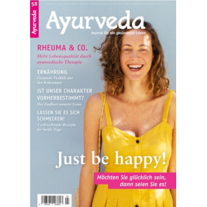 Ayurveda Journal 58 - Just be happy!