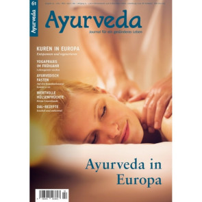 Ayurveda Journal 61 - Ayurveda in Europa