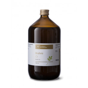 Brahmi Massage Oil 1 l by Classic Ayurveda