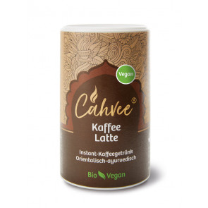 Cahvee® Coffee Latte Vegan, organic