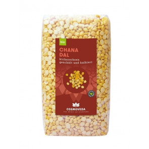 Chana Dal - Chickpeas, peeled and split, organic