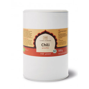 Chili (ground) organic 500 g by Classic Ayurveda