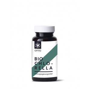 Chlorella (tablets) organic 80 g by Amla Natur