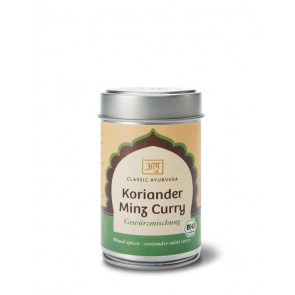 Coriander Mint Curry Spice Blend organic 50 g by Classic Ayurveda