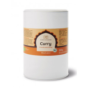 Curry Indian Spice Blend organic 500 g by Classic Ayurveda