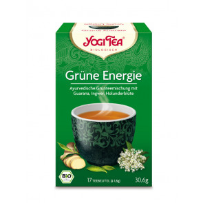 Green Energy Tea organic 17 tea bags à 1,8 g (30,6 g) by Yogi Tea