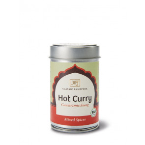 Hot Curry Spice Blend organic 60 g by Classic Ayurveda