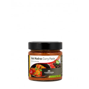 Hot Curry Paste bio 175 g von Cosmoveda