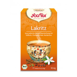 Licorice Tea organic 17 tea bags à 1,8 g (30,6 g) by Yogi Tea
