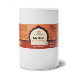 Methia Spice Blend organic 500 g by Classic Ayurveda
