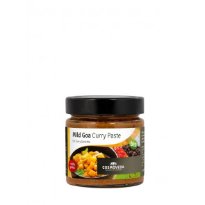 Mild Goa Curry Paste bio 175 g von Cosmoveda
