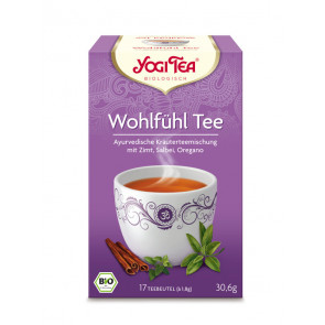 Feel Well Tea organic 17 tea bags à 1,8 g (30,6 g) by Yogi Tea