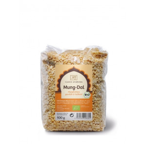 Yellow Mung Beans (whole) organic 500 g by Classic Ayurveda